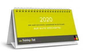 Gratis Kalender 2020 bestellen